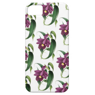 Purple Orchids flowers Pattern iPhone 5 Cover