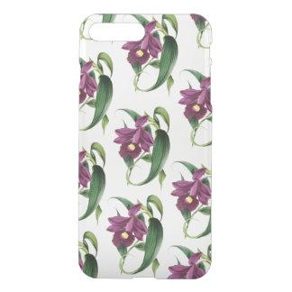 Purple Orchids Pattern iPhone 8 Plus/7 Plus Case