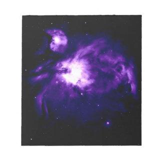 Purple Orion Nebula : Galaxy Notepad