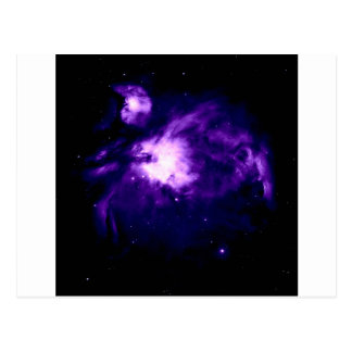 Purple Orion Nebula : Galaxy Postcard