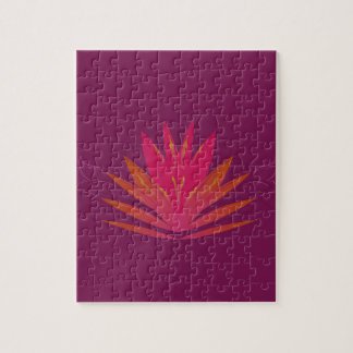 Purple ornaments luxury jigsaw puzzle