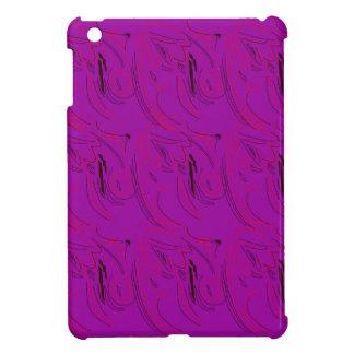 Purple ornaments / shop case for the iPad mini