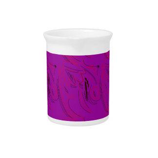 Purple ornaments / shop pitcher
