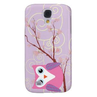 Purple Owl Girly Blackberry Cases