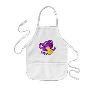 purple pacifier apron