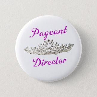 Purple Pageant Director 2 Inch Round Button