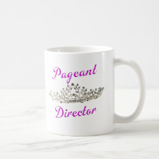 Purple Pageant Director Coffee Mug