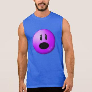 Purple Pain Awareness Graphic Art Sleeveless Shirt