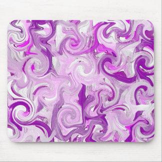 Purple Paint Mouse Pad