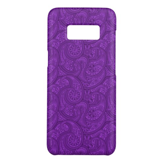 Purple Paisley Case-Mate Samsung Galaxy S8 Case