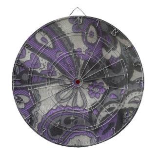 Purple Paisley Gear Dartboard