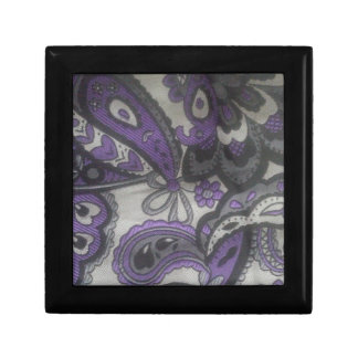 Purple Paisley Gear Gift Box