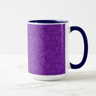 Purple Paisley Mug