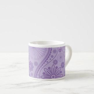Purple paisley pattern