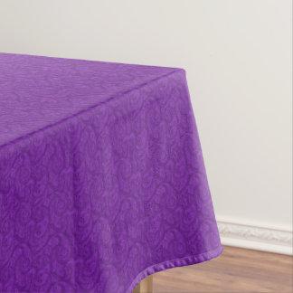 Purple Paisley Tablecloth