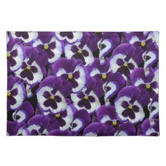 Purple_Pansies_Bouquet,_. Placemat