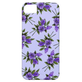 Purple Pansies: Flowers, Girly: Art Case For The iPhone 5
