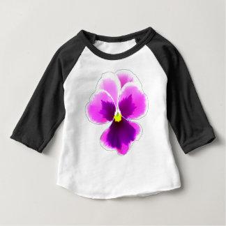 Purple Pansy Flower 201711 Baby T-Shirt