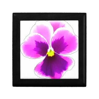 Purple Pansy Flower 201711 Gift Box