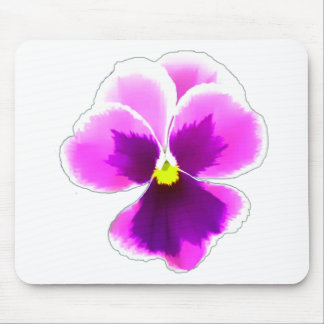 Purple Pansy Flower 201711 Mouse Pad