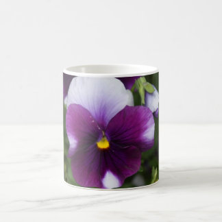Purple Pansy Mug