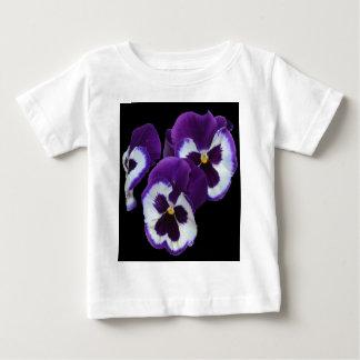 Purple_Pansy_Posy,_ Baby T-Shirt