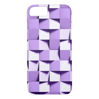 purple paper weave iPhone 8/7 case