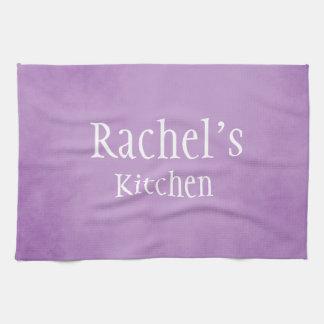 Purple Parchment beauty Kitchen Towel