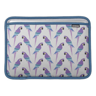 Purple Parrots MacBook Air Sleeve