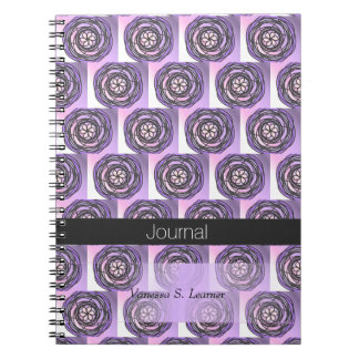 Purple Passion Flower Journal