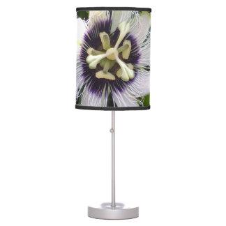 PURPLE PASSION FRUIT FLOWERS TABLE LAMP