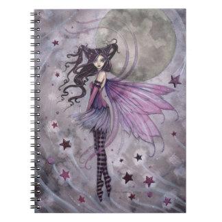 Purple Passion Gothic Fairy Fantasy Art Notebook