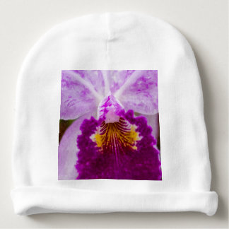 Purple Passion Orchid Baby Beanie