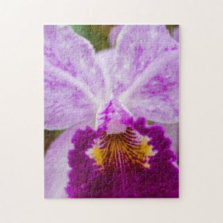 Purple Passion Orchid Jigsaw Puzzle