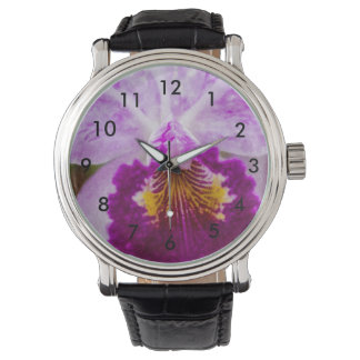 Purple Passion Orchid Watch