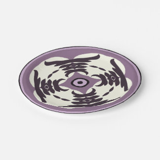 Purple Passion Paper Plate