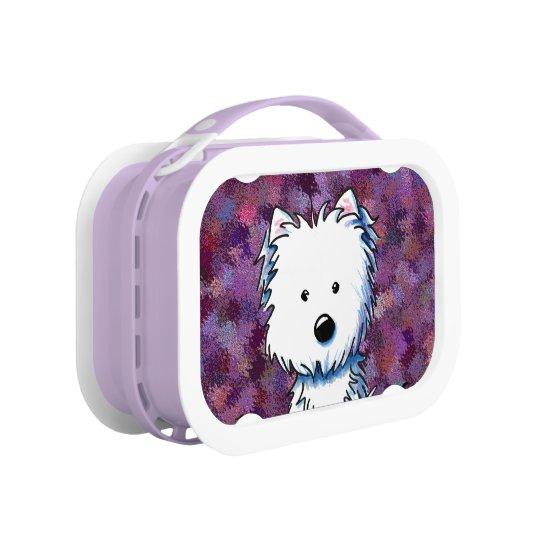 Purple Patch Westie Lunchbox