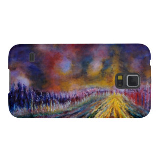 Purple Path Cases For Galaxy S5
