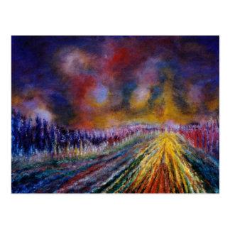 Purple Path Postcard