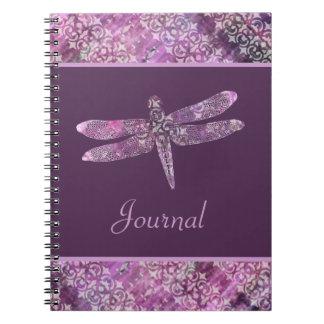 Purple Patina: Dragonfly Notebooks
