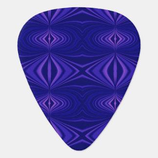 Purple Pattern Guitar Pick