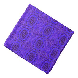 Purple pattern kerchief