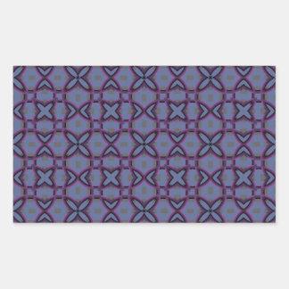 Purple Pattern Sticker