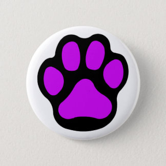 Purple Paw Button