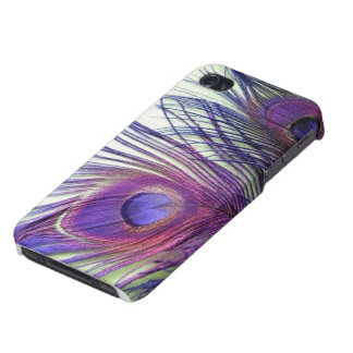 Purple Peacock iPhone 4/4s Case. iPhone 4/4s Case. Cover For iPhone 4