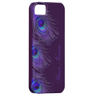 purple peacock iphone 5 case