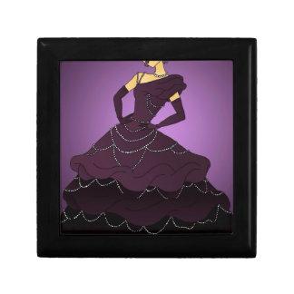 Purple Pearl Dress Gift Box