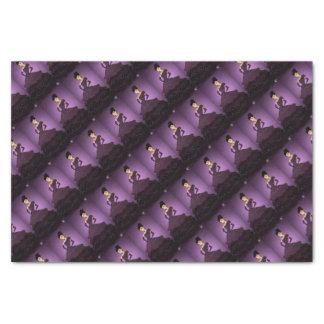 Purple Pearl Dress Tissue Paper