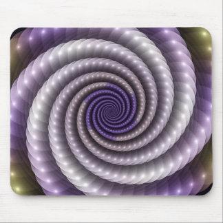 Purple Pearl Fractal Mouse Pad