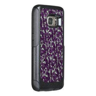 Purple Pebbles OtterBox Samsung Galaxy S7 Case
